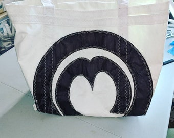 Sailcloth Tote Bag with Mariner Class Logo