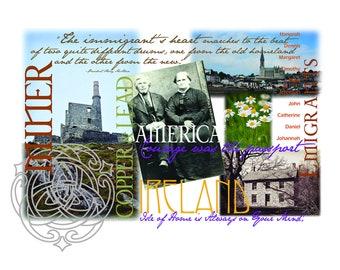 John and Margaret Shea Family Vault, Gaelic, Ireland, Immigrant, Grandparents, Life Story, Beara Peninsula, Miner, Quotes