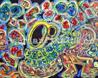 GLOMARE signed art print