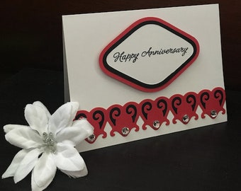 Anniversary Card, Handmade Anniversary Card