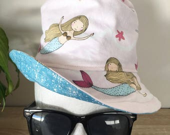 Girls Bucket Hats - Toddler Size