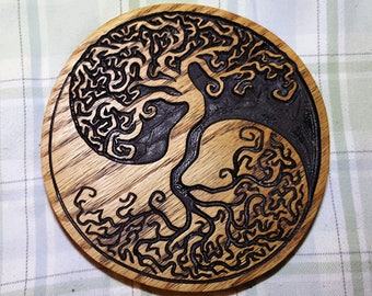 Tree Yin Yang Wall Art