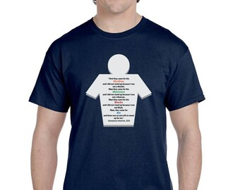 First they came for the muslims......#DACA- Dreamers t- shirt