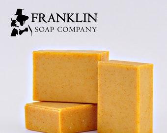 Creamy Citrus Goat Milk Soap I All Natural Soap
