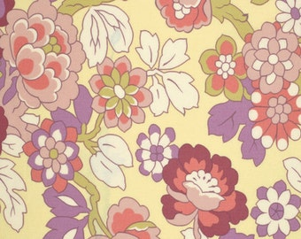 Amy Butler Gypsy Caravan Gypsy Cutting Garden Linen cotton Fabric by the yard