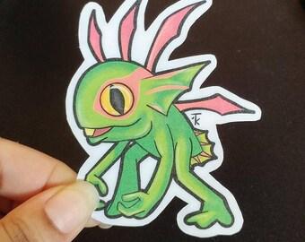 Warcraft -- Baby Murloc -- Stickers
