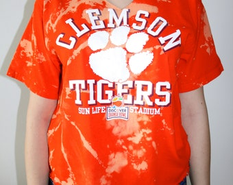 Cropped College Tee (Clemson University)