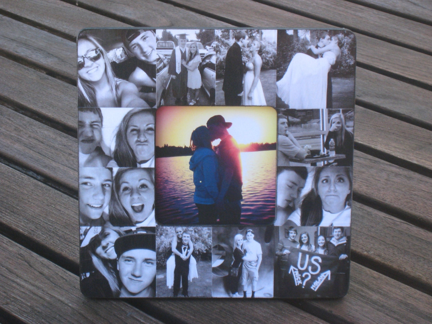 Boyfriend Collage Picture Frame Unique Graduation Gift