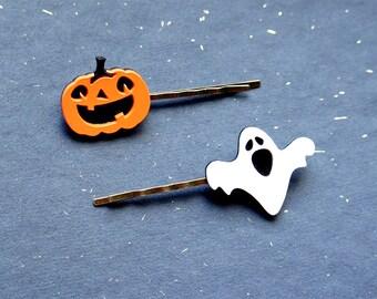Halloween Hairpins. LaliBlue