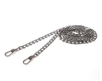 Adjustable Silver Chain Crossbody Strap for Rocketscientry Handbags