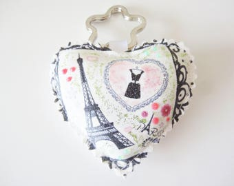 Keychain heart shaped, Valentine's day special