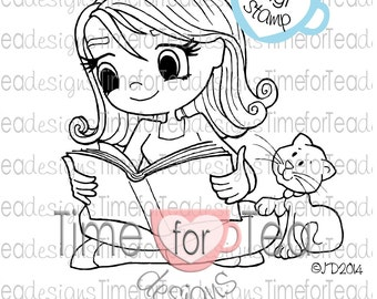 Read To Me Digital Stamp