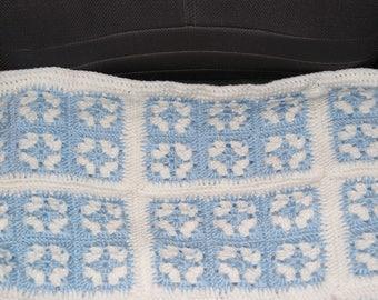 baby blue granny squares
