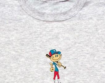 Happy Baseball Player Shirt