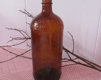 Vintage old Javex 32 oz bottle / Vintage Javex 32 oz Bottle