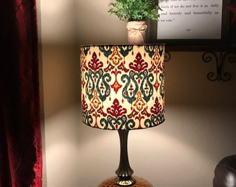 Handcrafted Ikat Lampshade