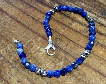 African Sodalite bracelet