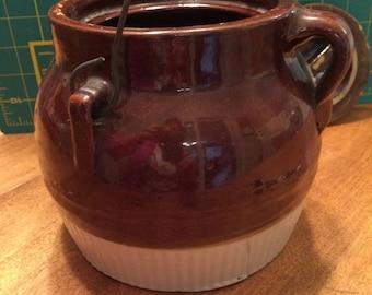 Red Wing Bean Pot