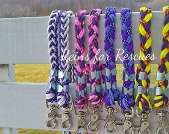 Custom Paracord Horse Riding Reins