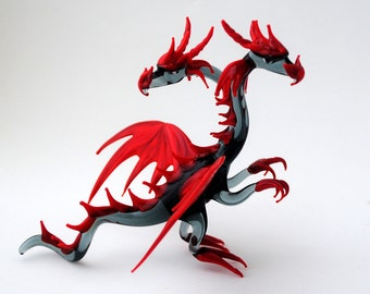 e36-901D Double Headed standing Dragon