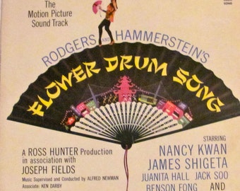 Flower Drum Song Record Album Cover