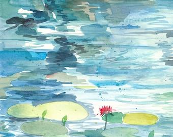 Lily Pads - Digital Print