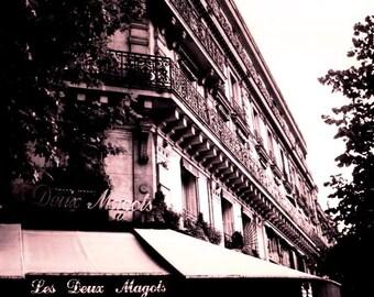 Les Deux Magots - Paris, France 8 X 10 Photo Print