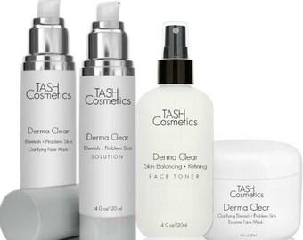 Derma Clear Blemish + Problem Skin Solutions Kit