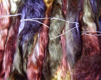 Tencel roving for spinning - Deep Woods, 1 oz.
