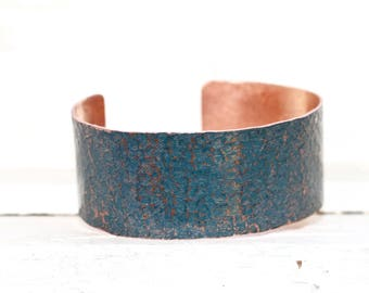 Hammered Copper Cuff, Personalized Bracelet for Graduation, Graduation Gift from Mom, Graduate Gift from Parents, Daughter Gift From Dad