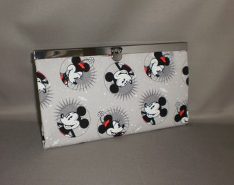 Mickey Mouse Wallet - DIVA Wallet - Clutch Wallet - Minnie Mouse