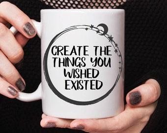 Gift for artist, mug for friend, birthday gift, best friend mug, mug for her, gift for creatives