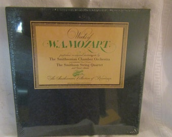 Smithsonian Cassette set on Works of W.A. Mozart