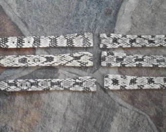 Swamp Rattle Snake watchband  Pieces set of 3