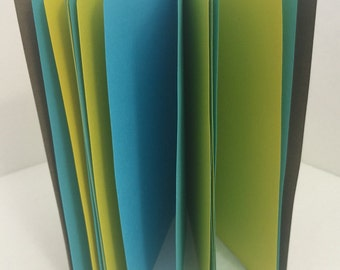 Tropical 24lb Paper Traveler's Notebook Insert- ALL Sizes, Including B6, B6 Slim, Personal, & A6! Choose Your Cover Color!