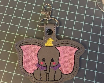 Elephant purse charm/key ring