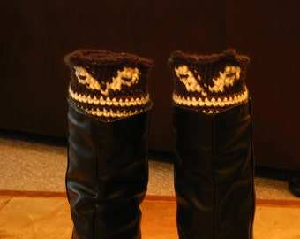 Skunk Boot Cuffs