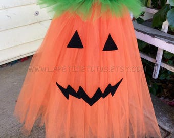Pumpkin tutu, pumpkin costume, halloween costume, infant costume, toddler costume, pumkin dress, pumpkin tutu dress, pumpkin tutu, pumpkin
