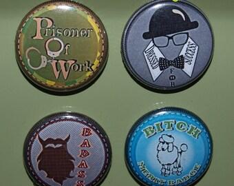 Adult Merit badges group #2-set of 4