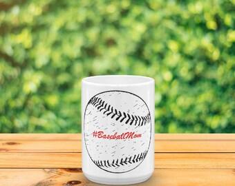 Baseball Mug (Front Print)