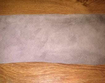 457) set of 18 pieces of Shearling, Brown, taupe