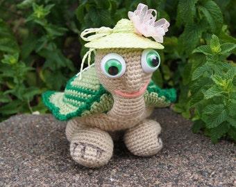 Wonderful turtle crochet