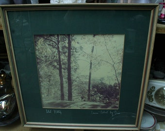 "Dixie Dixon Original Photograph - ""Silent Hilltops"""