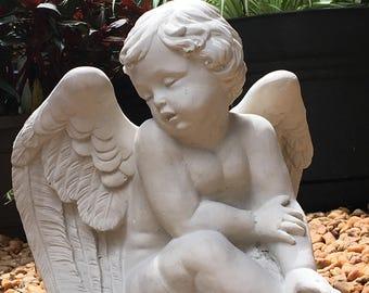 Concrete Cement Angel Statue ...