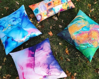 Special printed decorative ART pillows