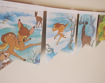 Bambi Vintage Little Golden Book Bunting