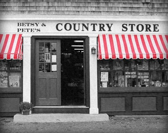 Country Store Personalized Art Print, Country Wall Decor, Country Print, Personal Gifts for Couple