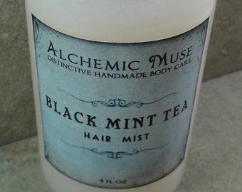 Black Mint Tea - Hair Mist - Detangler & Styling Primer - Limited Edition
