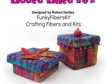 Lidded Lined Box 3D Design PDF Instructional by Robert Hartley