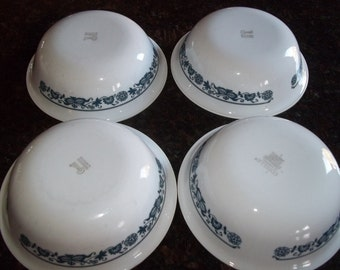 Set of 4 Old Town Corelle Cereal Bowls
